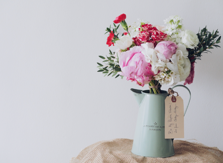 Flores em casa de repouso morada primavera