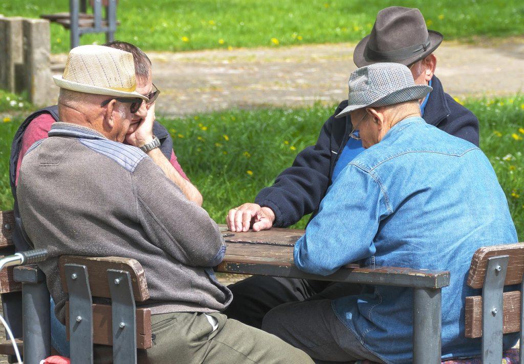 Brincadeiras para idosos