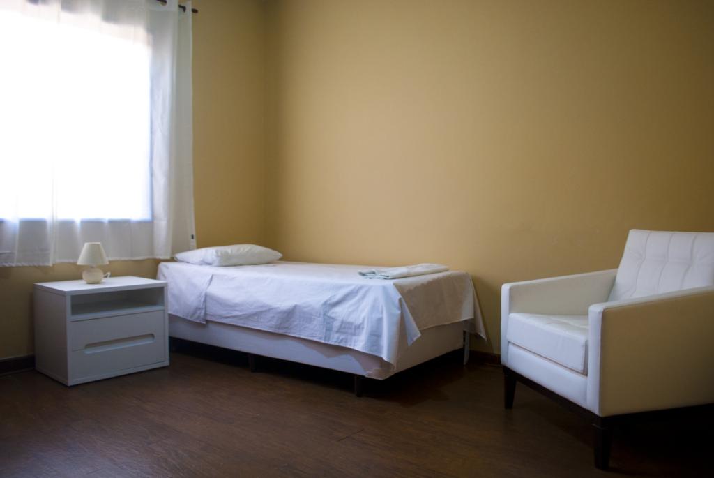 quarto individual casa de repouso morada privamera