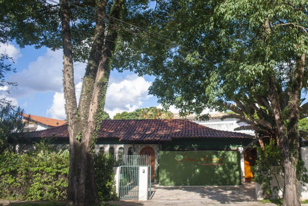 fachada - casa de repouso morada privamera